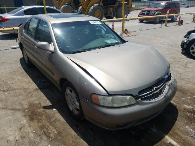 Nissan Altima GXE salvage cars for sale: 2001 Nissan Altima GXE