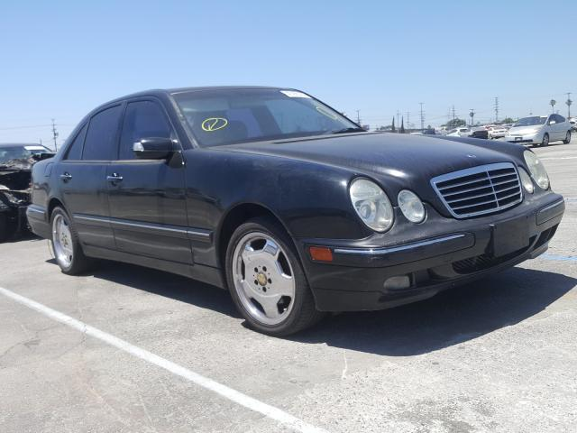 Salvage cars for sale from Copart Sun Valley, CA: 2001 Mercedes-Benz E 320