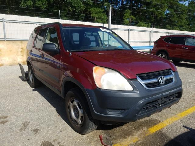 Honda CR-V LX salvage cars for sale: 2004 Honda CR-V LX