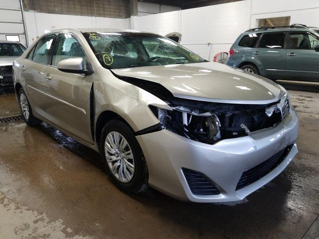 Salvage cars for sale from Copart Blaine, MN: 2013 Toyota Camry L
