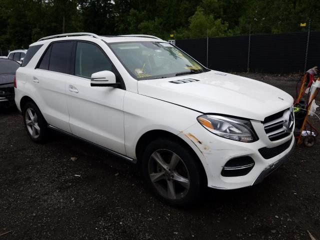 Mercedes-Benz GLE 350 4M salvage cars for sale: 2018 Mercedes-Benz GLE 350 4M
