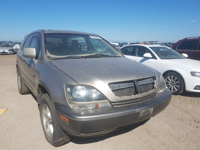 Lexus salvage cars for sale: 2000 Lexus RX 300