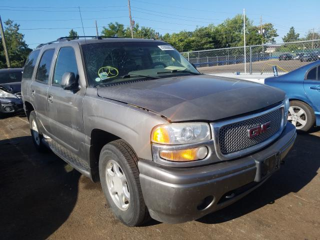 GMC Yukon Dena salvage cars for sale: 2005 GMC Yukon Dena