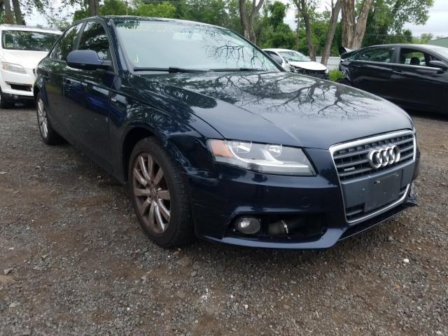 Audi A4 Premium salvage cars for sale: 2010 Audi A4 Premium