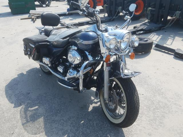 Salvage cars for sale from Copart Dunn, NC: 2003 Harley-Davidson Flhrci