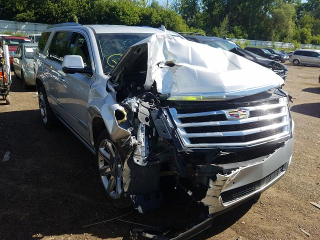 Salvage cars for sale from Copart Davison, MI: 2016 Cadillac Escalade
