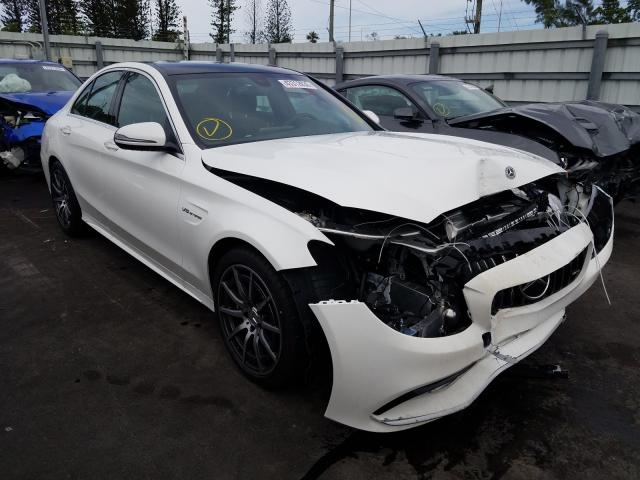 2020 Mercedes-benz C 63 amg 4.0. Lot 43312030 Vin 55SWF8GB4LU332543