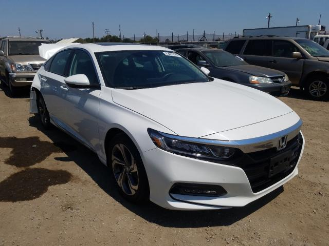 Honda Accord EXL salvage cars for sale: 2018 Honda Accord EXL