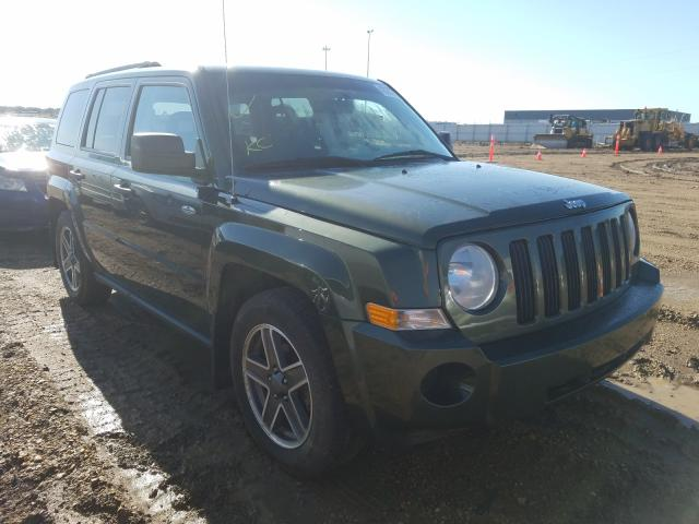 Jeep Patriot SP salvage cars for sale: 2009 Jeep Patriot SP