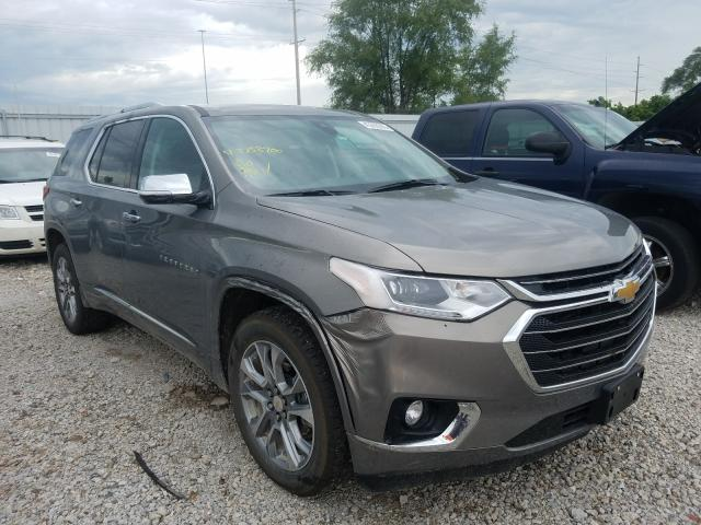 Salvage 2019 Chevrolet TRAVERSE P for sale