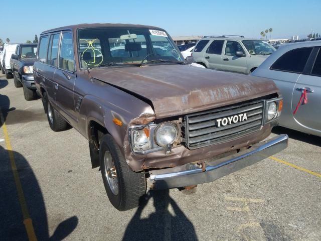 Toyota Land Cruiser salvage cars for sale: 1985 Toyota Land Cruiser