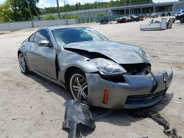 Nissan 350Z Coupe salvage cars for sale: 2006 Nissan 350Z Coupe