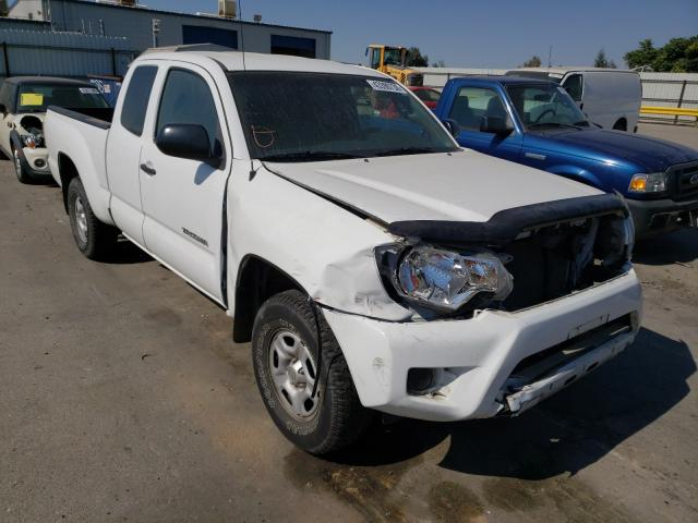 Salvage cars for sale from Copart Bakersfield, CA: 2012 Toyota Tacoma ACC