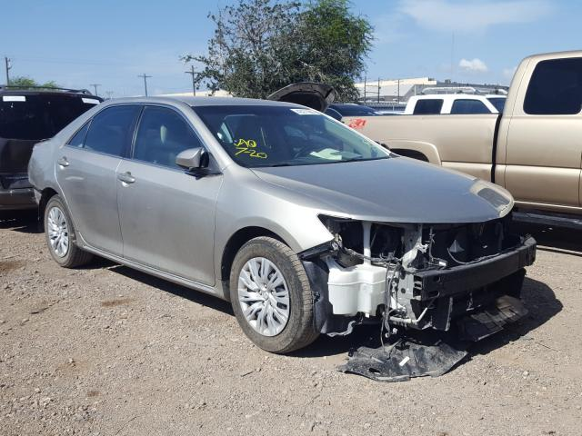 Salvage cars for sale from Copart Mercedes, TX: 2014 Toyota Camry L