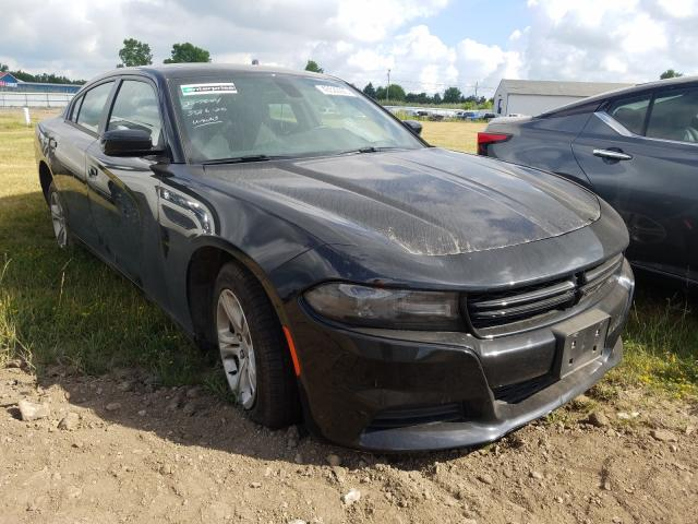 Salvage cars for sale from Copart Columbia Station, OH: 2019 Dodge Charger SX