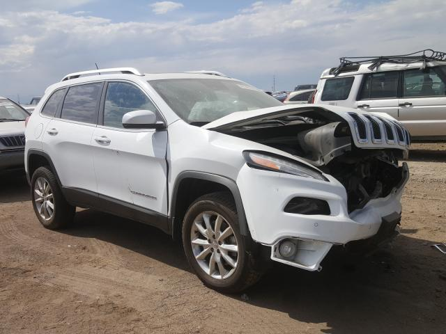 Jeep Cherokee L salvage cars for sale: 2014 Jeep Cherokee L