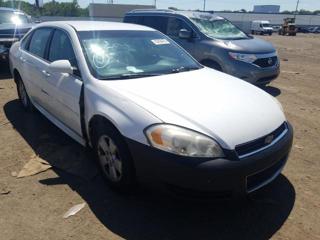 Salvage cars for sale from Copart Hammond, IN: 2011 Chevrolet Impala LT
