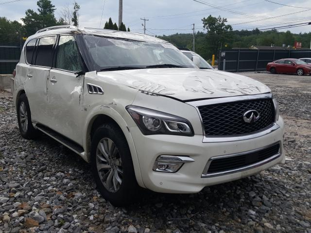 Salvage 2017 Infiniti QX80 BASE for sale