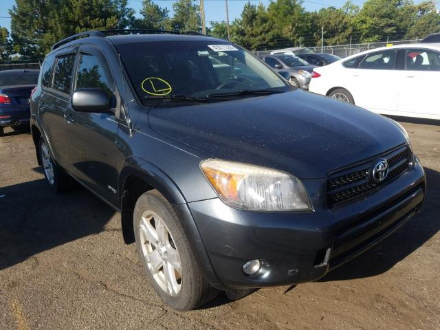 Toyota Rav4 Sport salvage cars for sale: 2007 Toyota Rav4 Sport