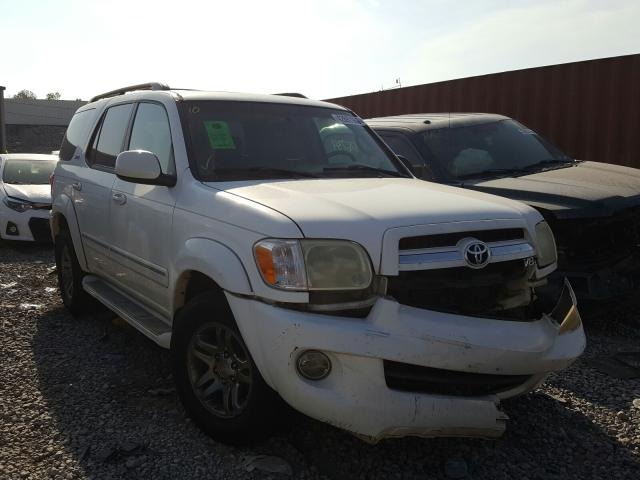 Toyota Sequoia SR salvage cars for sale: 2006 Toyota Sequoia SR