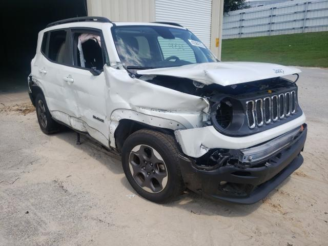 Salvage cars for sale from Copart Gainesville, GA: 2018 Jeep Renegade L