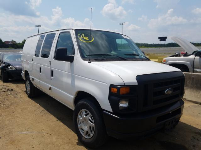Salvage cars for sale from Copart Concord, NC: 2011 Ford Econoline