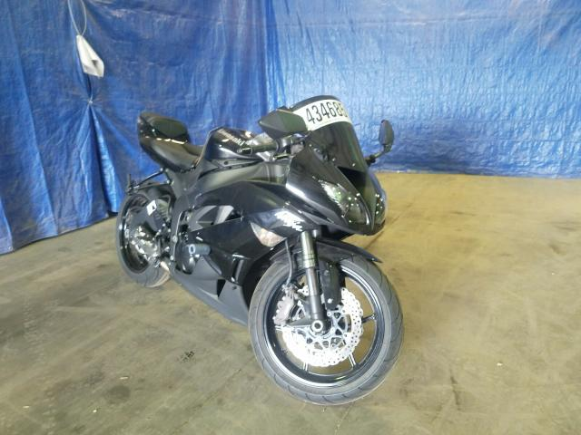 Salvage cars for sale from Copart Finksburg, MD: 2009 Kawasaki ZX600 R
