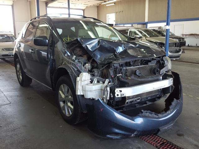 Salvage cars for sale from Copart Pasco, WA: 2014 Nissan Murano S
