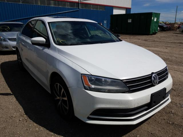 Salvage cars for sale from Copart Rocky View County, AB: 2015 Volkswagen Jetta SE