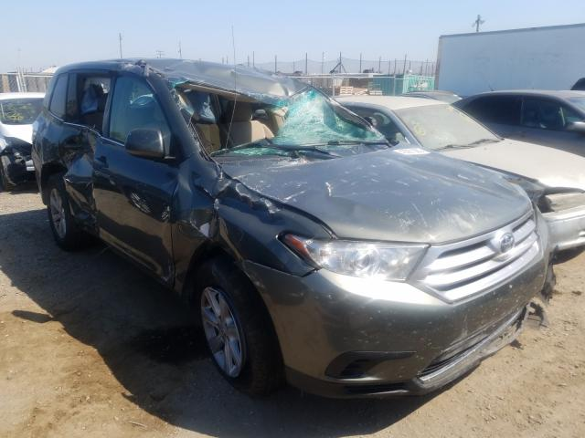 Salvage cars for sale from Copart San Martin, CA: 2012 Toyota Highlander