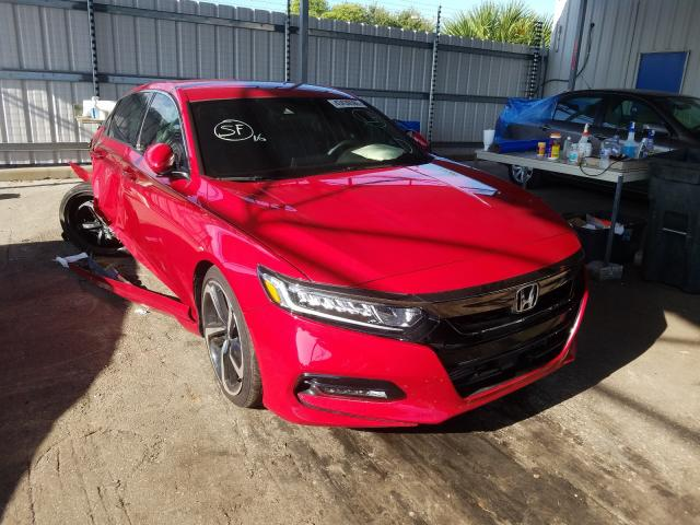 Salvage cars for sale from Copart Orlando, FL: 2019 Honda Accord Sport
