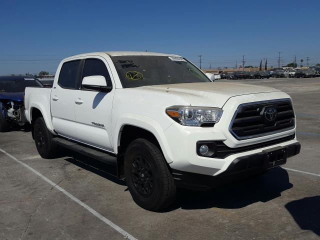 Salvage cars for sale from Copart Los Angeles, CA: 2019 Toyota Tacoma DOU