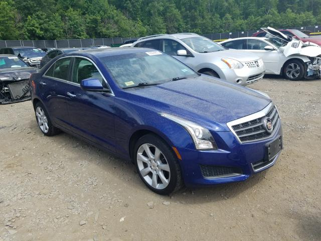 Salvage cars for sale from Copart Waldorf, MD: 2013 Cadillac ATS