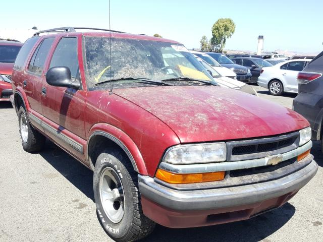 Salvage cars for sale from Copart Martinez, CA: 1998 Chevrolet Blazer