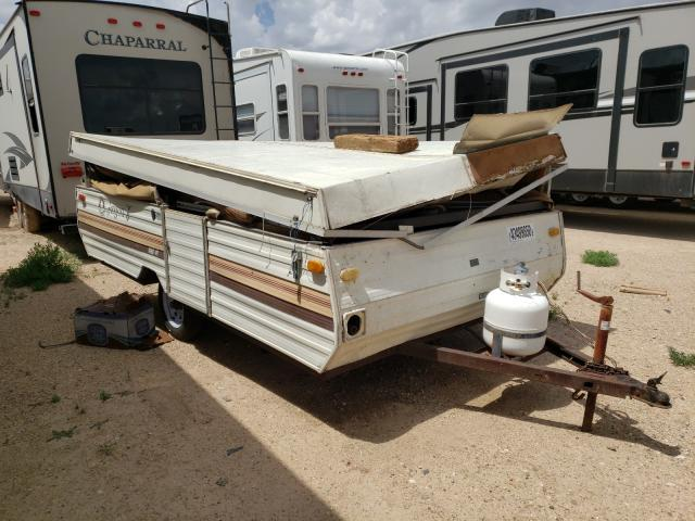 Jayco salvage cars for sale: 1984 Jayco Popup Cmpr