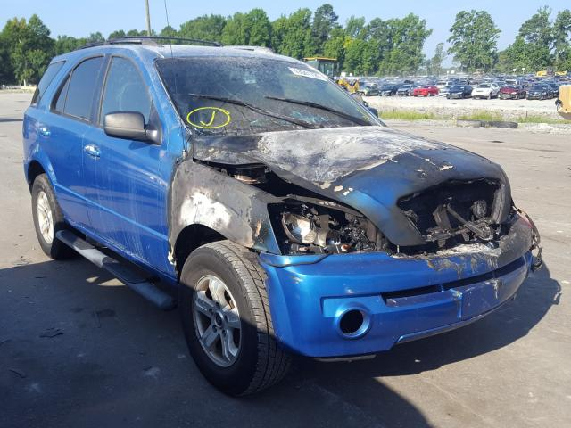 Salvage cars for sale from Copart Dunn, NC: 2005 KIA Sorento EX