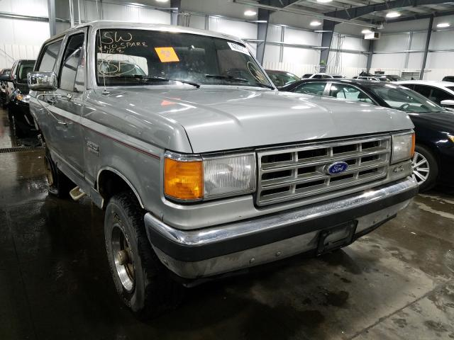 Ford Bronco U10 salvage cars for sale: 1988 Ford Bronco U10