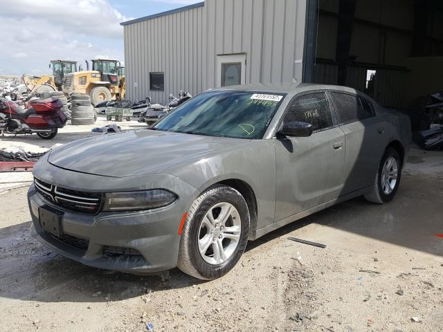 2C3CDXBG1JH247453 - 2018 Dodge Charger Sx 3.6L Right View