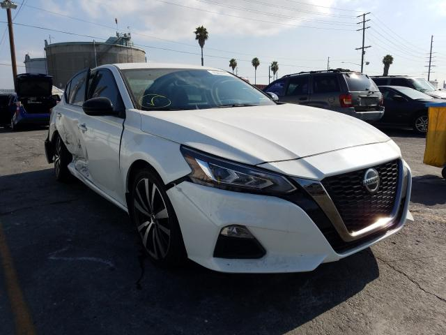 Salvage cars for sale from Copart Wilmington, CA: 2019 Nissan Altima SR