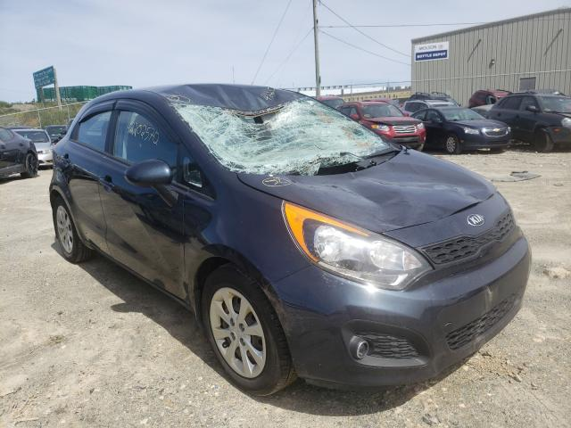 Salvage cars for sale from Copart Cow Bay, NS: 2013 KIA Rio LX