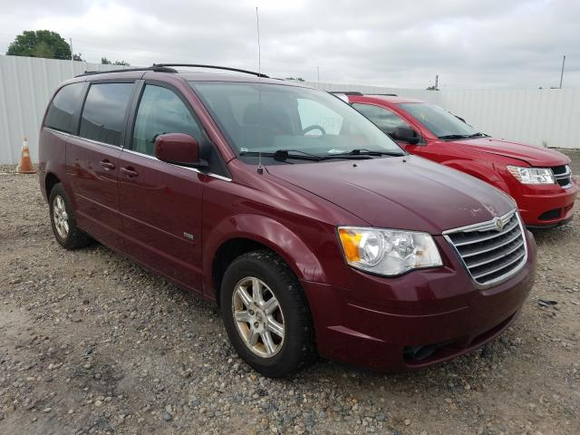 Salvage cars for sale from Copart Lansing, MI: 2008 Chrysler Town & Country
