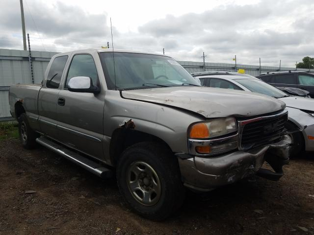 GMC New Sierra salvage cars for sale: 2001 GMC New Sierra