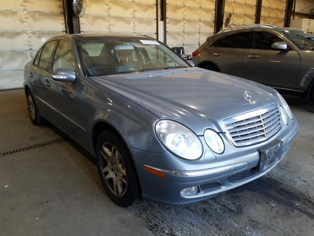 Mercedes-Benz E 320 4matic salvage cars for sale: 2005 Mercedes-Benz E 320 4matic