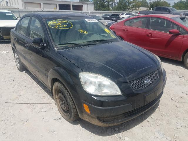 KIA salvage cars for sale: 2007 KIA Rio Base