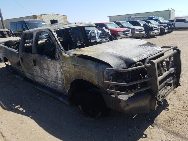 Salvage cars for sale from Copart Casper, WY: 1999 Ford F350 SRW S