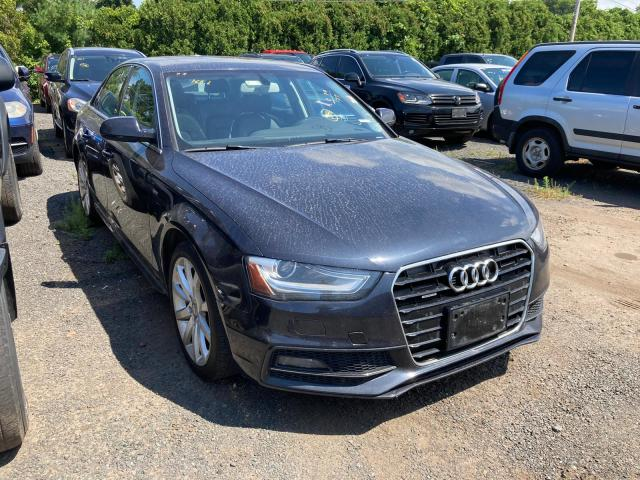 Audi A4 Premium salvage cars for sale: 2014 Audi A4 Premium