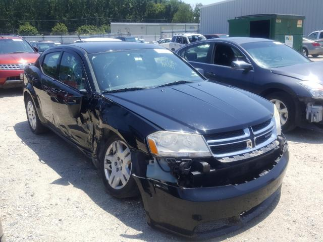Salvage cars for sale from Copart Hampton, VA: 2011 Dodge Avenger EX