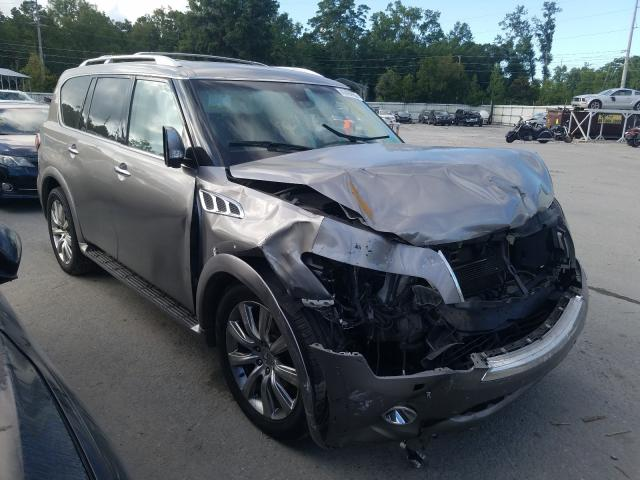 Infiniti QX56 salvage cars for sale: 2013 Infiniti QX56
