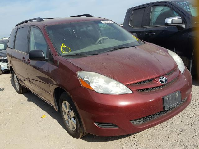Toyota Sienna CE salvage cars for sale: 2008 Toyota Sienna CE
