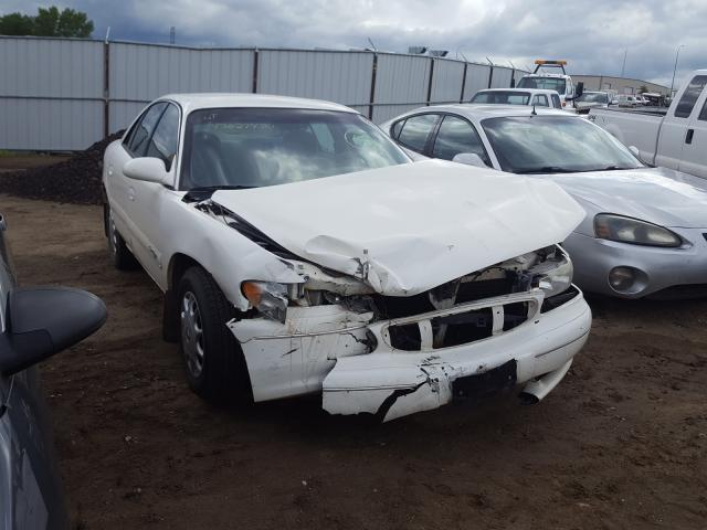Salvage cars for sale from Copart Billings, MT: 2002 Buick Century CU